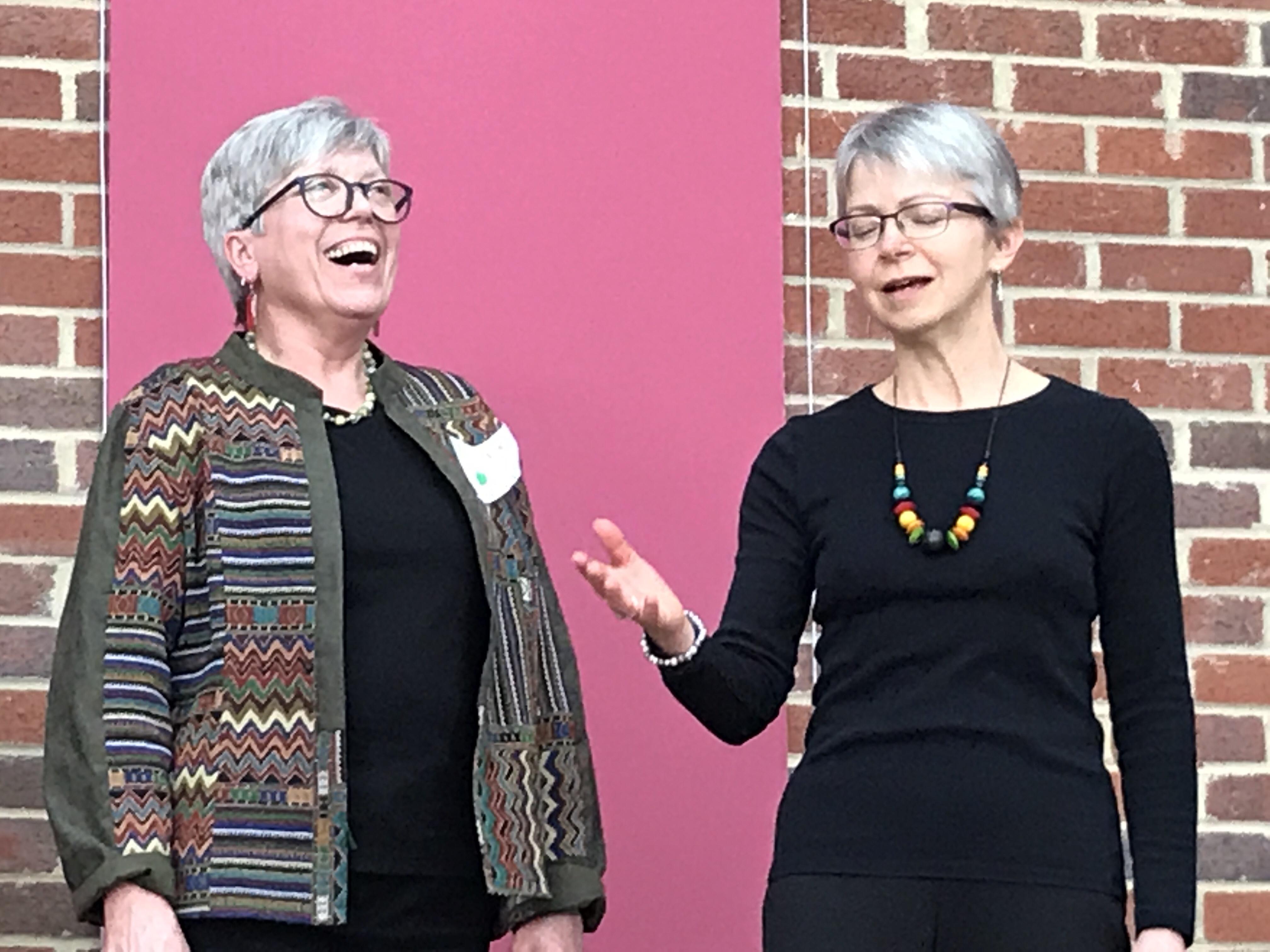 Sue and Suzanne