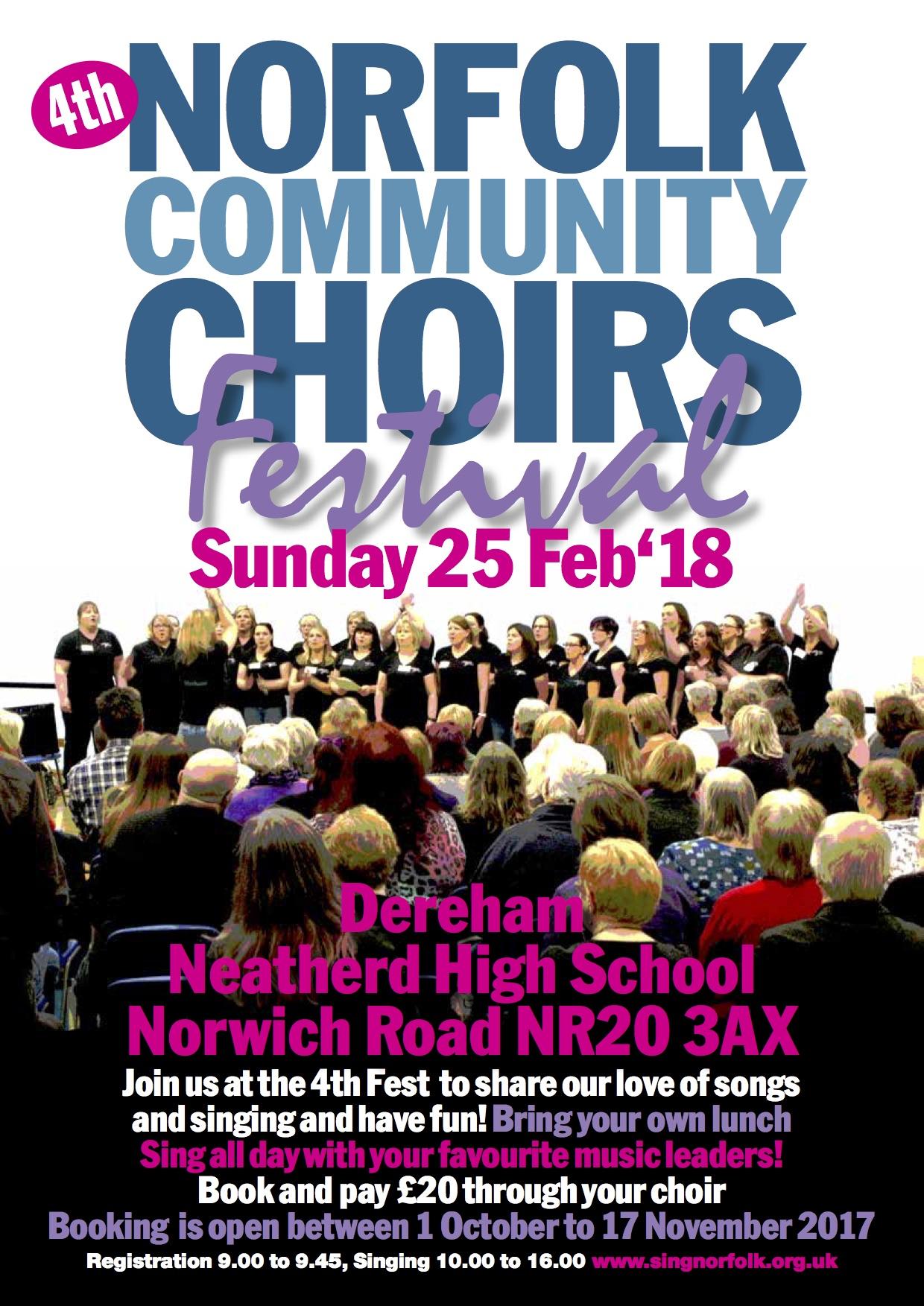Choir fest A4 Poster 2018 -4