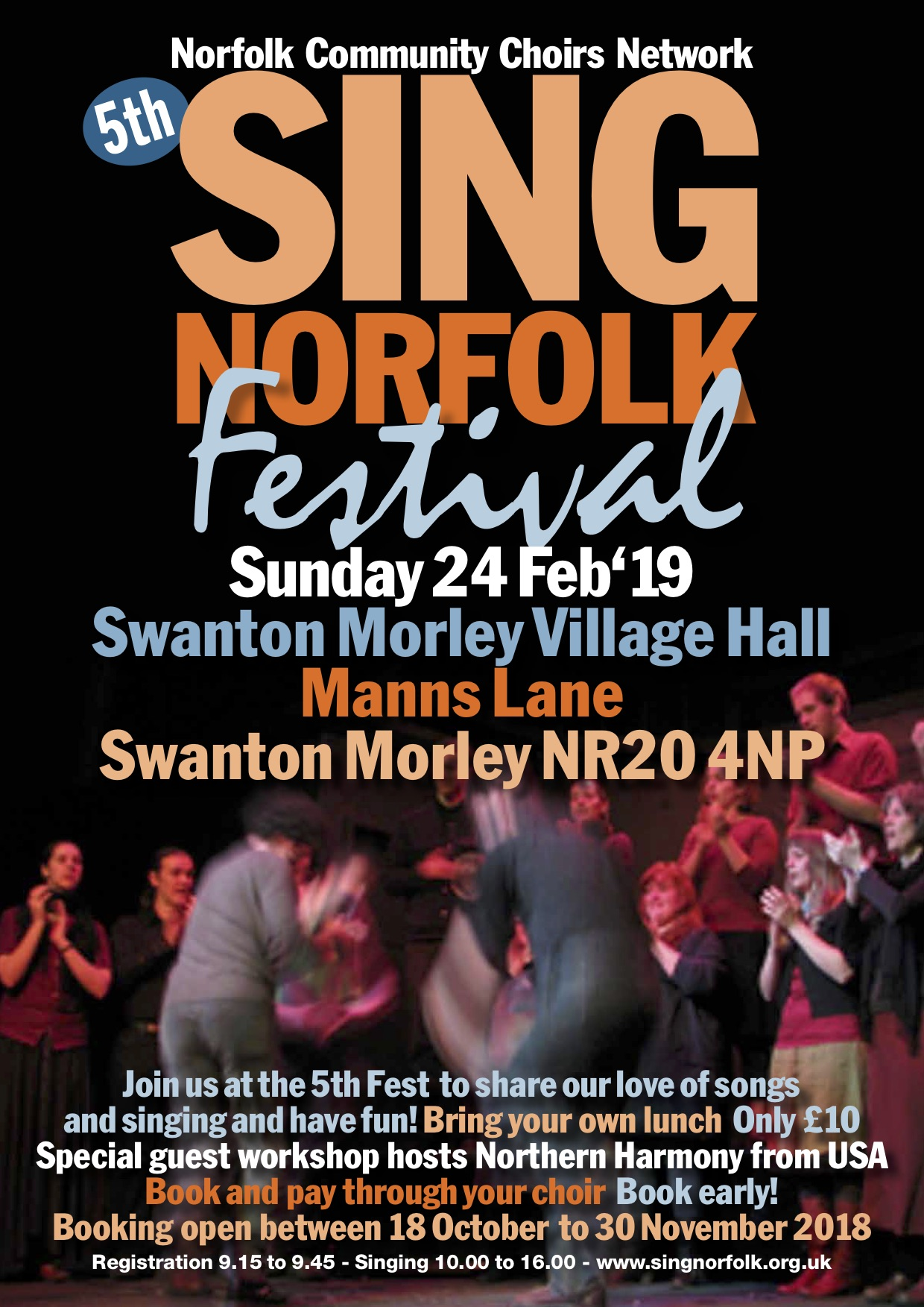 Choir fest A4 Poster 2019